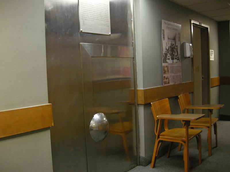 6. crypt door