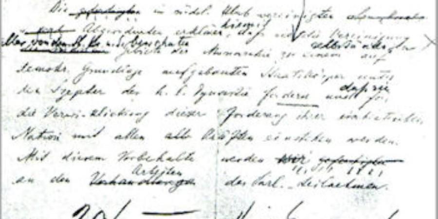 Majniška deklaracija 1917