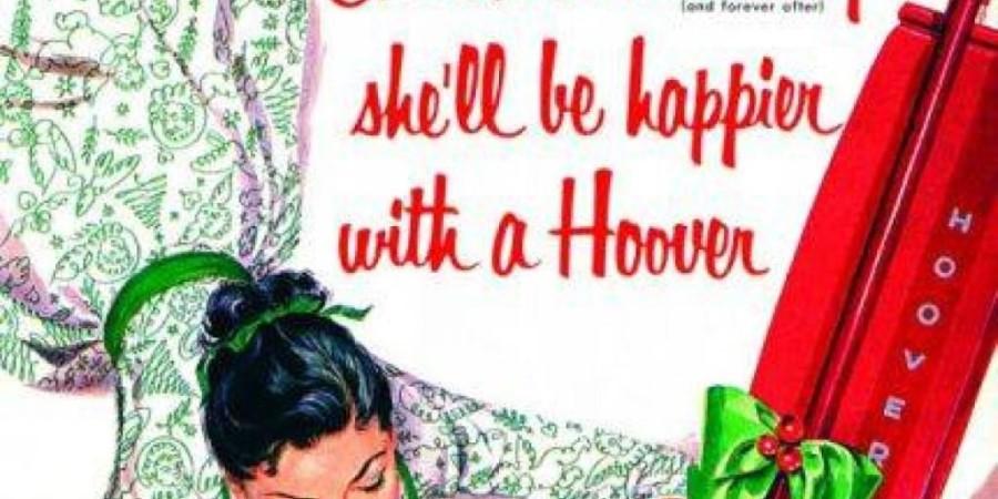 Božično jutro - srečnejša bo s Hooverjem (sesalnik)