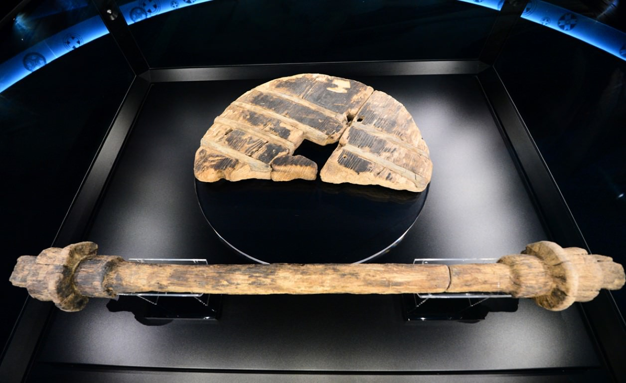 Najstarejše leseno kolo na svetu