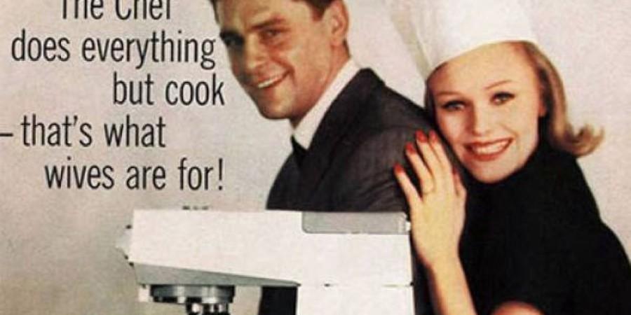 Chef dela vse, razen kuha - zato so žene tukaj.