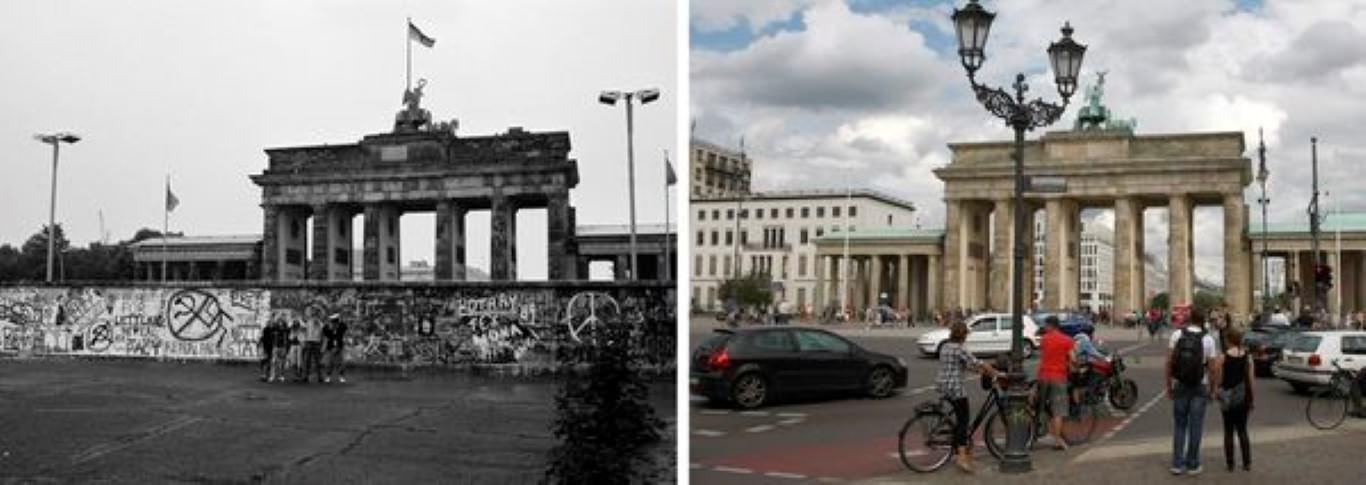 Kjer je nekoč potekal berlinski zid