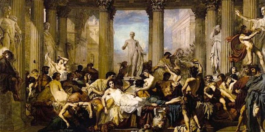 """Kako so Rimljani praznovali """"božič"""""""