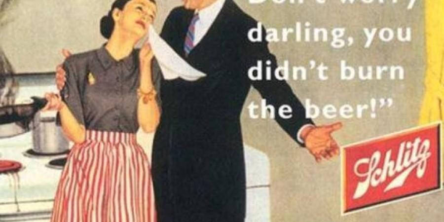 Ne skrbi draga, vsaj pive nisi zažgala.