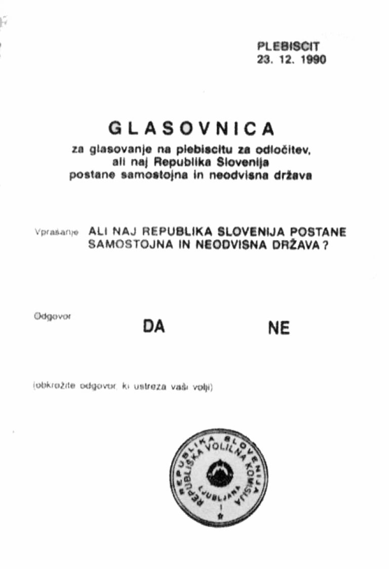 Glasovnica