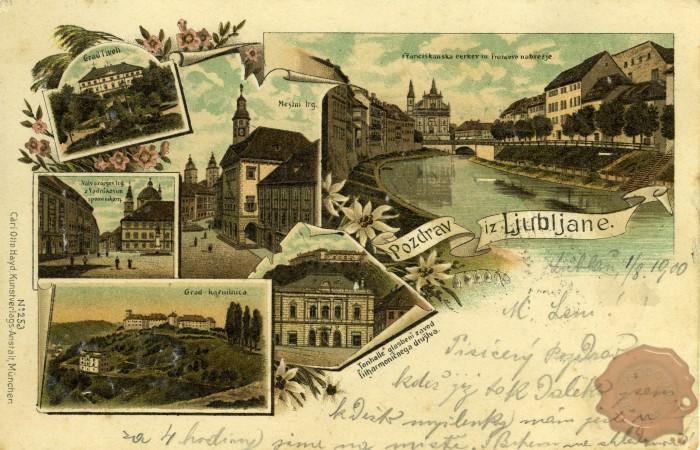 znamenitosti Lj. v 19. stoletju