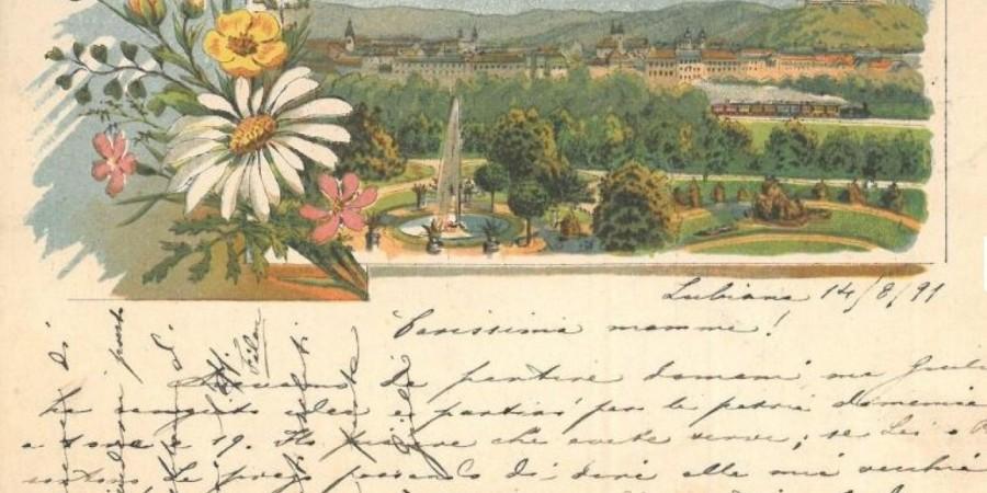Dobri stari časi, podobe Ljubljane in njenih prebivalcev na razglednicah