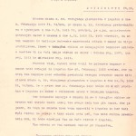 Poziv družini Chomiak za odhod v Gmund. SI_ZAL_IDR/0102, Begunci, f. 10.