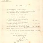 Račun za preskrbo beguncev v občini Idrija. SI_ZAL_IDR/0102, Splošno pisarniško poslovanje, f. 139.