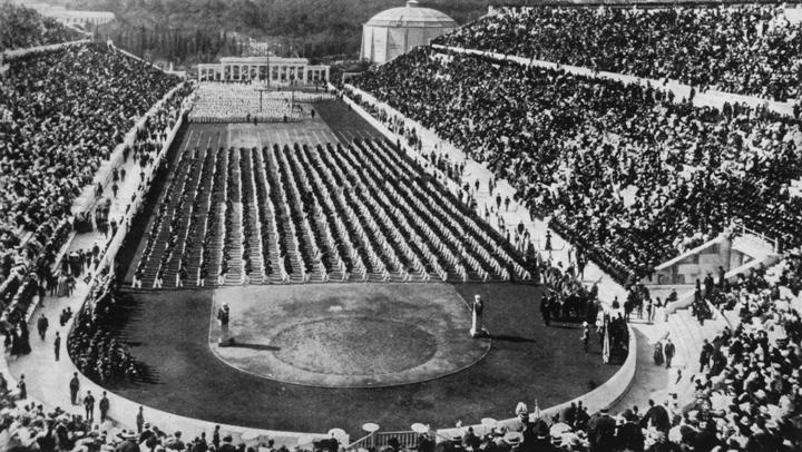 Prve Olimpijske igre moderne dobe