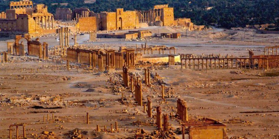 Verena Perko: Sirija in Palmira: kulturna dediščina so ljudje (Historični seminar ZRC SAZU, 2015)