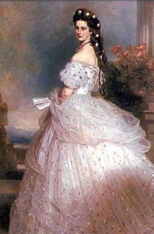 Portret cesarice Sisi. Foto: wikimedia