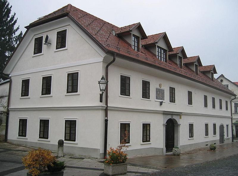 Rojstna hiša v Kamniku. Foto: Wikimedia