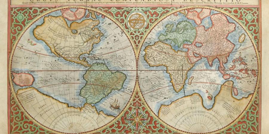 Prvi moderni zemljevidi Mercatorja