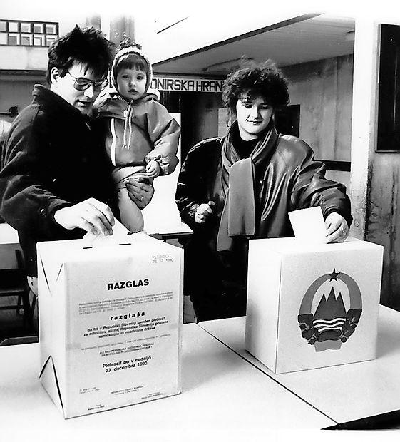 Glasovanje. Foto: primorske.si