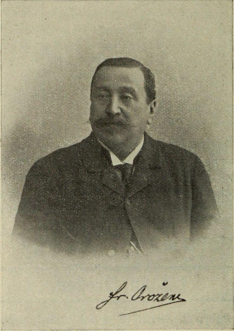 Fran Orožen. Foto: Wikimedia