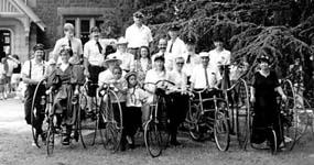 Izlet kolesarskega društva. Foto: kolesarska-zveza.si