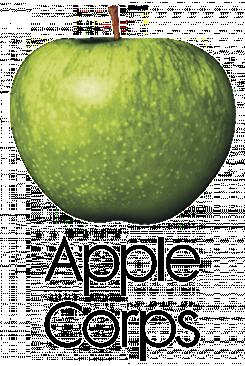 Logo Apple Corps Ltd (jabolko Granny Smith) na moč spominja na logo računalniškega podjetja Apple, le da je ta nastal 9 let pozneje in zato tudi izgubil tožbo proti londonskemu podjetju, zaradi kršite zoper blagovne znamke.