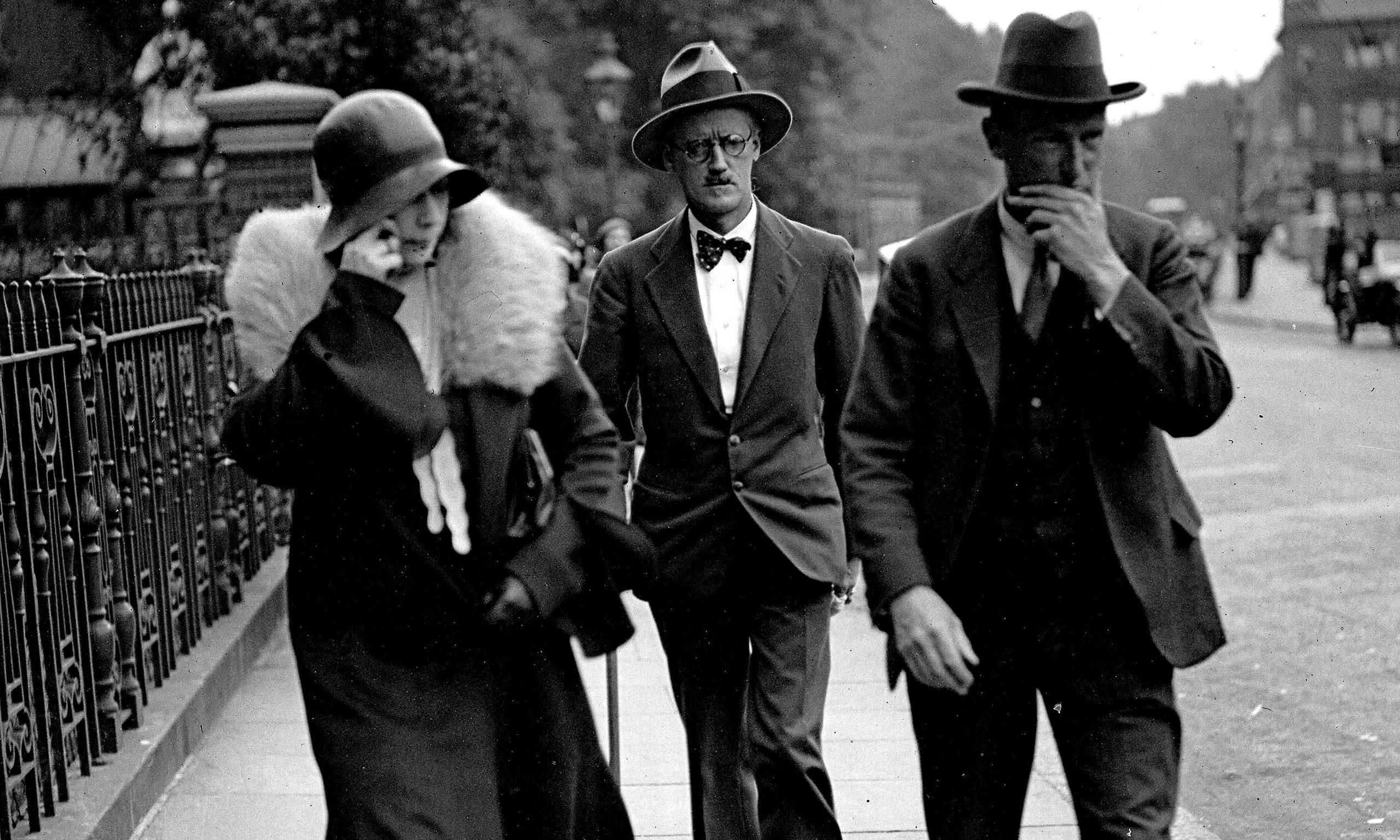 James Joyce z ženo Noro Barnacle.