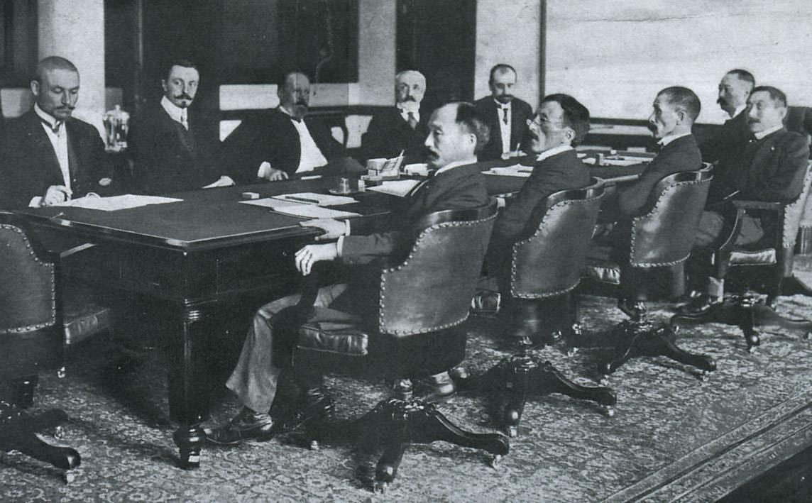 Pogajanja pred podpisom mirovne pogodbe, Portsmouth 1905.