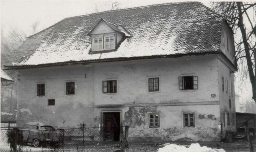 Vodnikova rojstna hiša.