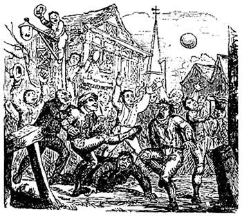"""Ilustracija t.i. """"nogometa nepridipravov"""". Foto: Wikimedia"""