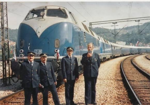 Titov Modri vlak. Foto: rtvslo.si