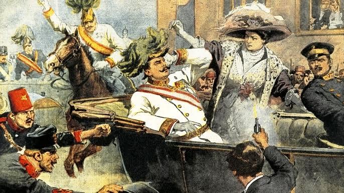 Odziv Slovencev na atentat na prestolonaslednika Franca Ferdinanda in na vojno napoved Srbiji (1. del)