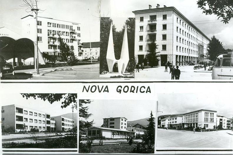 Razglednica Nove Gorice. Foto: novagorica-ks.si