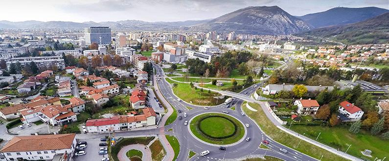 Panorama Nove Gorice danes. Foto: nova-gorica.si