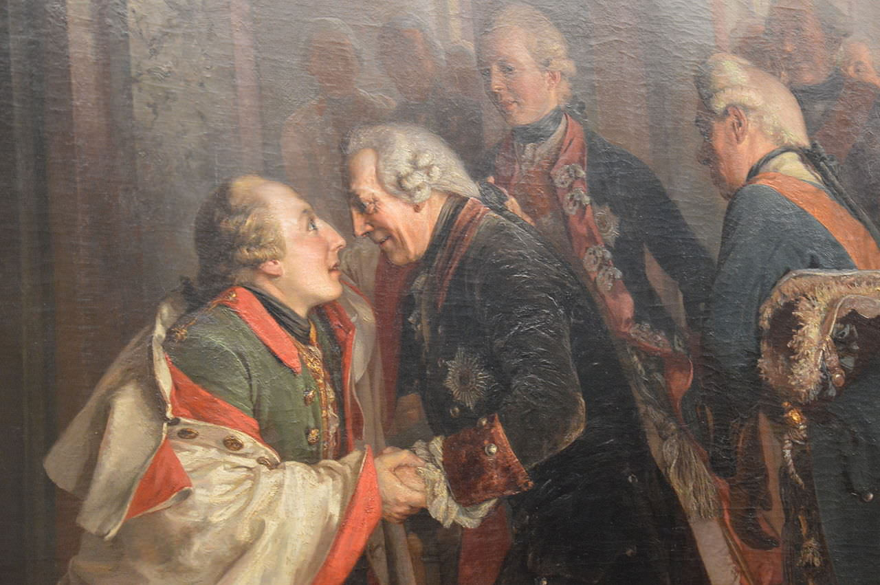 Srečanje Jožefa II. in Friderika Velikega (1769).