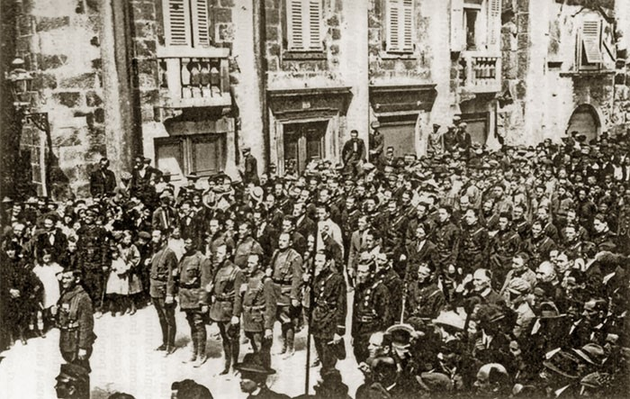 Orjuna v Splitu 1924.