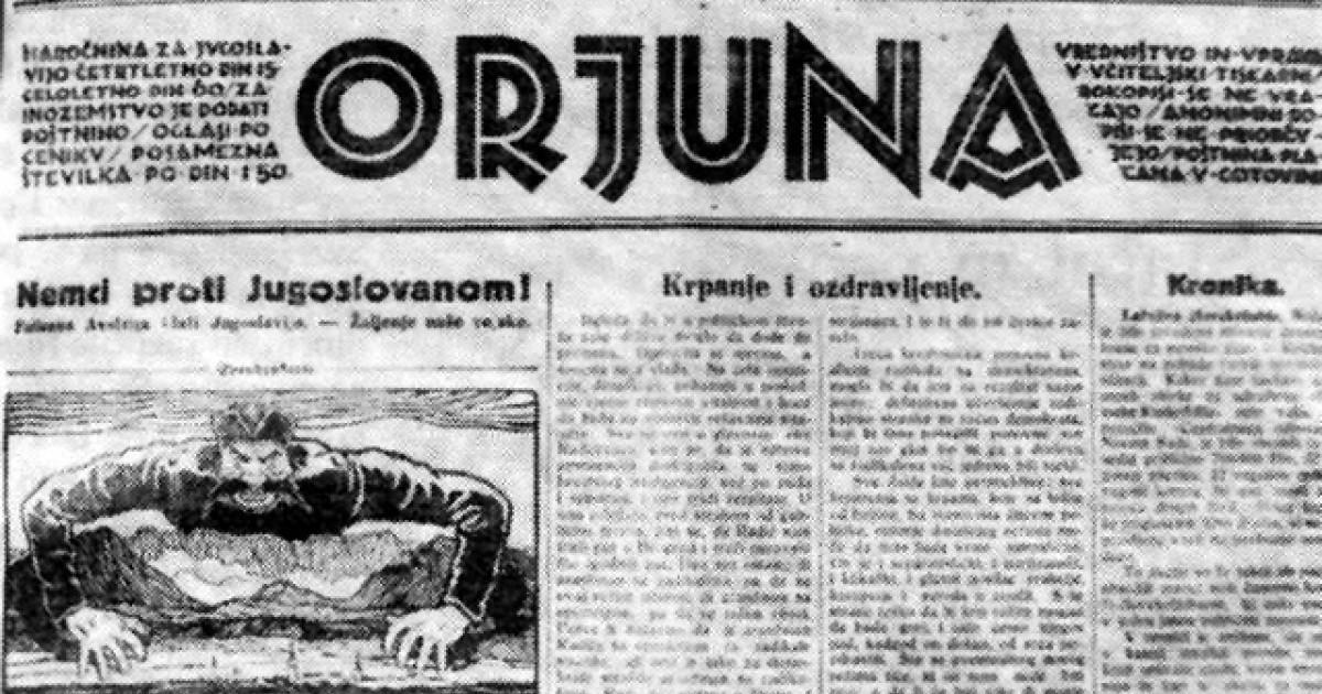 Časopis Orjuna.