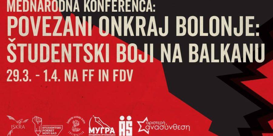 Povezani onkraj Bolonje – študentski boji na Balkanu
