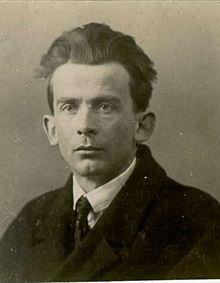 Josip Vidmar v mladih letih.