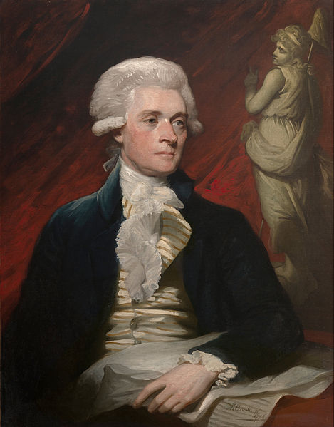 Mladi Thomas Jefferson.