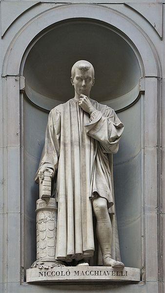 Machiavllijev kip (Lorenzo Bartolini).