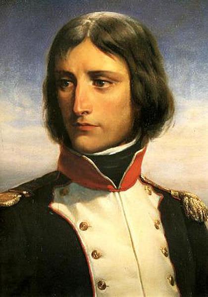 Napoleon Bonaparte leta 1792.