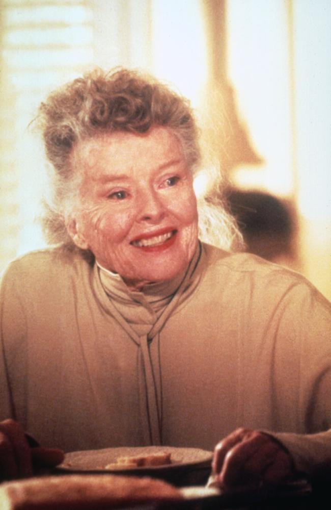 Katharine Hepburn v zadnji filmski vlogi (Love Affair) leta 1994.