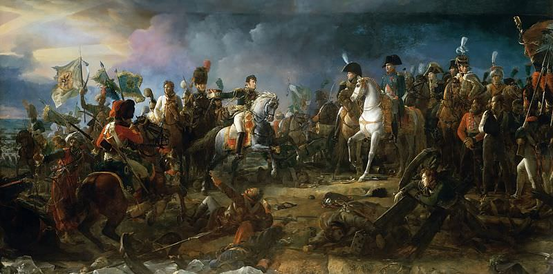 Bitka pri Austerlitzu leta 1805.