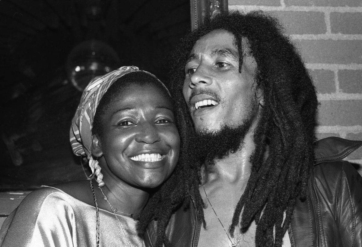 Bob Marley in Rita Marley leta 1978.