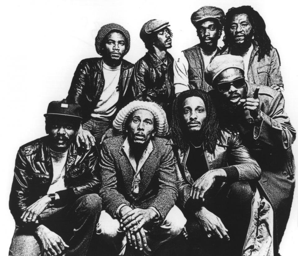 Bob Marley in The Wailers