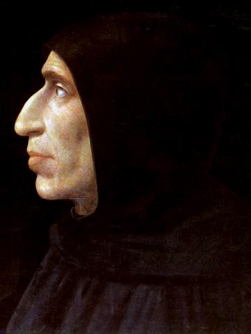 Girolamo Savonarola. Savonarola je bil italijanski dominikanski pridigar.