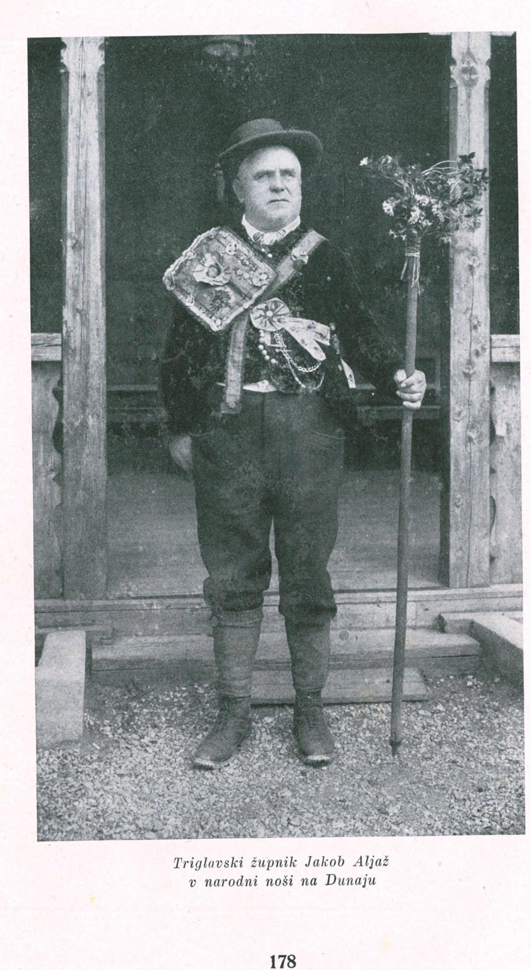 Jakob Aljaž (1845 – 1927) - pobudnik, lastnik in graditelj Aljaževega stolpa na vrhu Triglava.