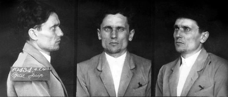 Josip Broz Tito v zaporu leta 1928.