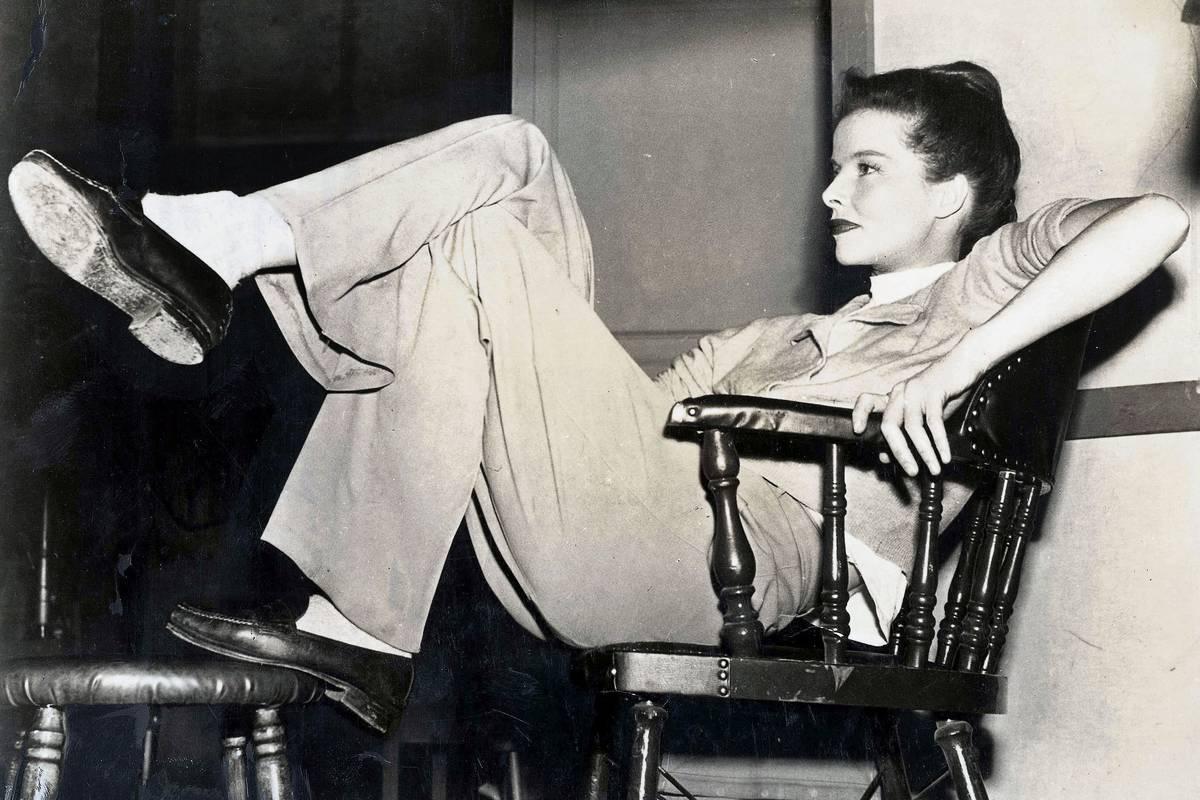 Nekonvencionalna hollywoodska zvezdnica Katharine.
