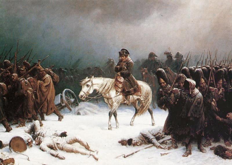 Napoleonov umik iz Rusije leta 1812.