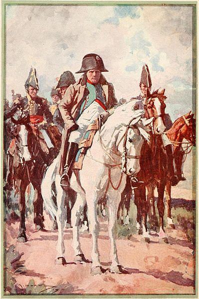 Napoleon kot poveljnik francoske vojske.