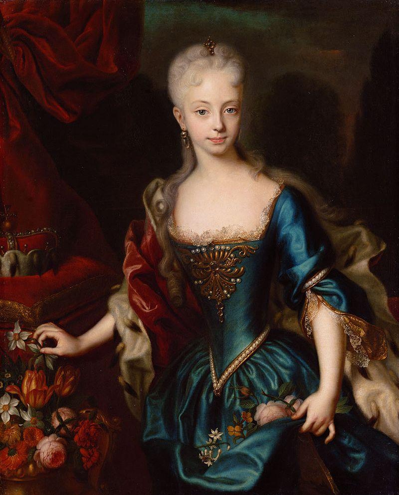 Marija Terezija leta 1729. Foto: Wikimedia