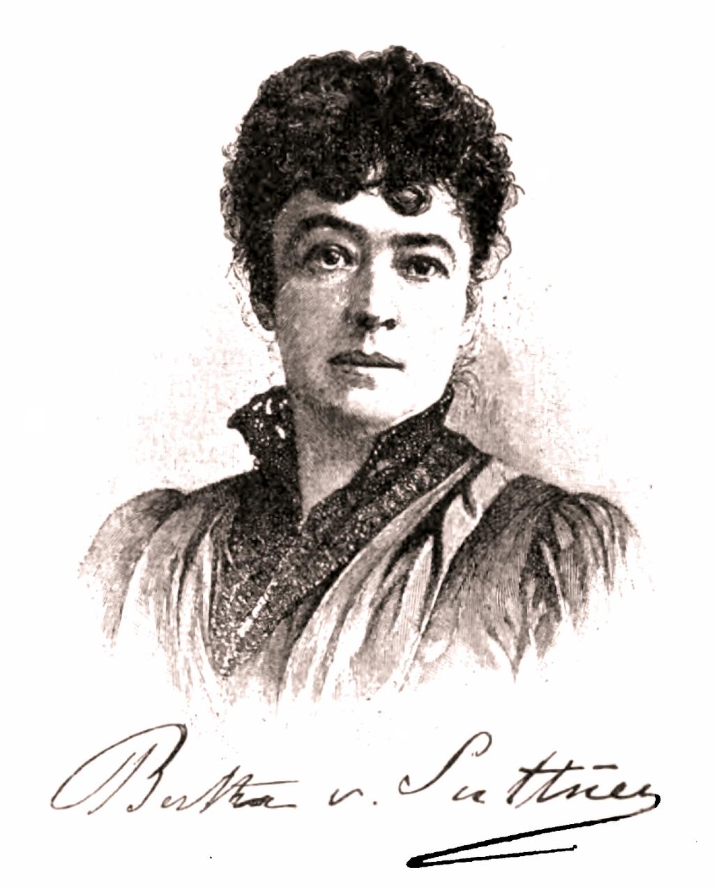 Bertha von Suttner leta 1896.